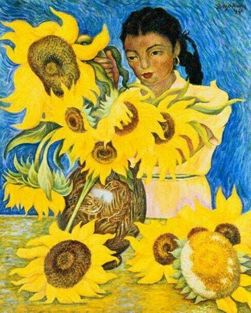Diego Rivera Girasoles Frida Art Diego Rivera Artistas