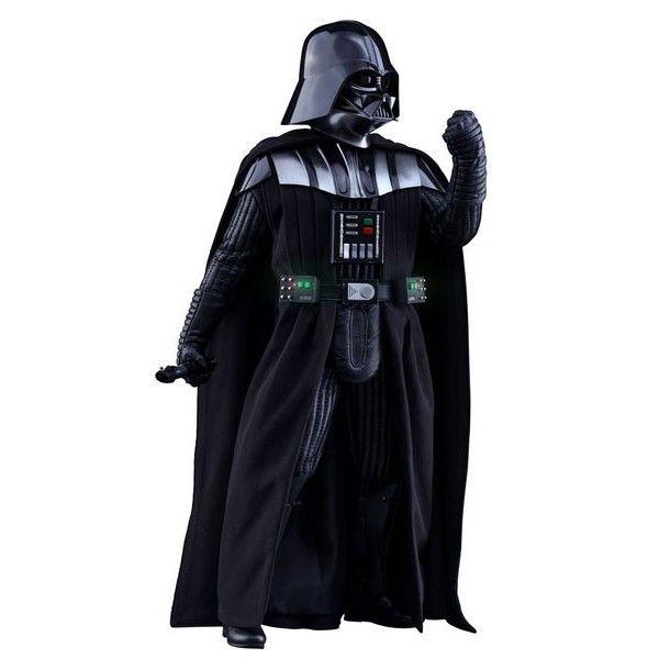 FIGURA HOTTOYS STAR WARS ROGUE ONE DARTH VADER 30 … Fabuloso producto, bajo licencia., Figura articulada de la película ´Star Wars: Rogue One´ en escala 1/6, tamaño aprox. 35 cm con luz.  Viene con ropa de tela y accesorios. Fabricante: HOTTOYS