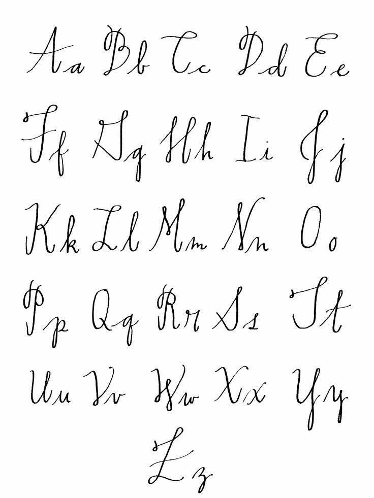 Calligraphy Alphabet Google Search Crafting Practice