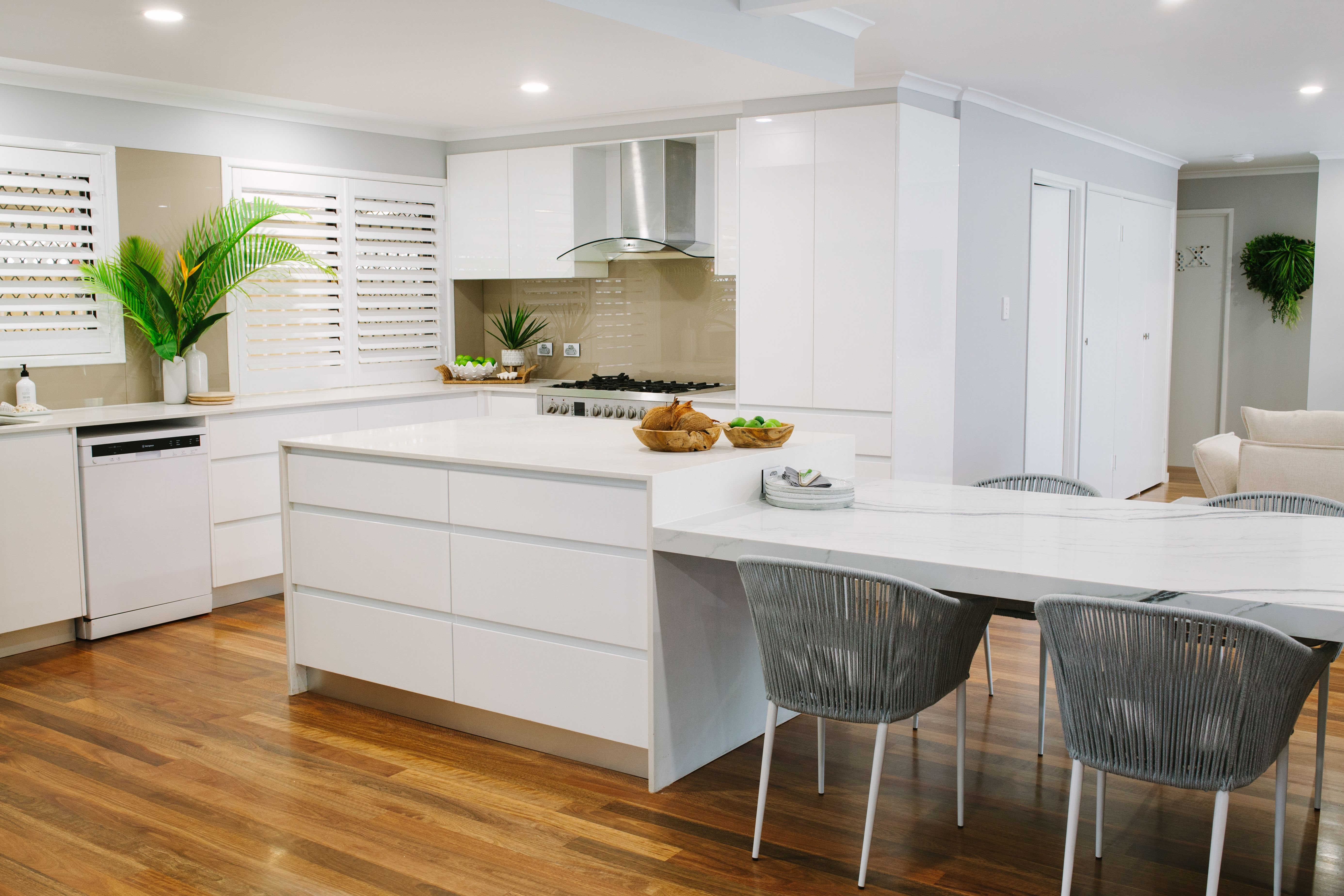 Arki Haus – Smartstone island benchtop and dining table top in ...