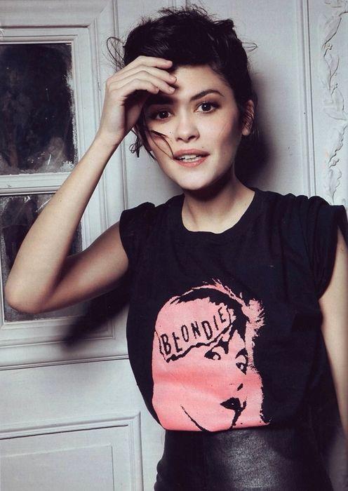 Audrey Tautou  | Ectomorph Body Type | Tomboy fashion