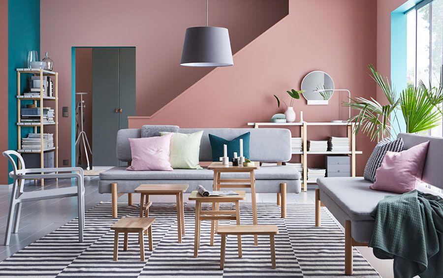 Soggiorno Ikea Idee : Arredare il soggiorno con ikea: tante idee per diversi stili