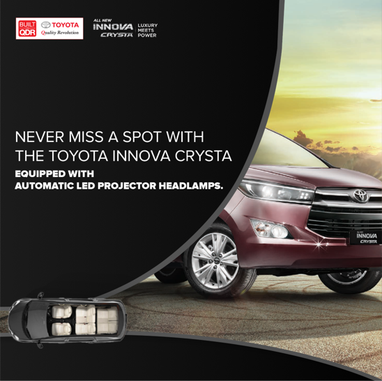 Never Miss A Stop With The Toyota Innova Crysta Toyota Innova Toyota Dealers Toyota
