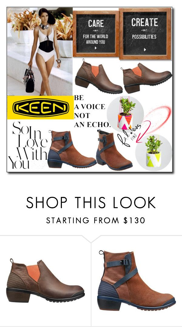 """""""So Fresh and So Keen: Contest Entry"""" by selly111528 ❤ liked on Polyvore featuring Keen Footwear and keen"""