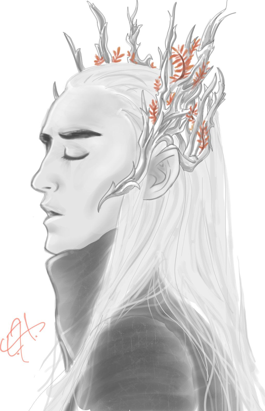 Thranduil by BlueFire795.deviantart.com on @deviantART