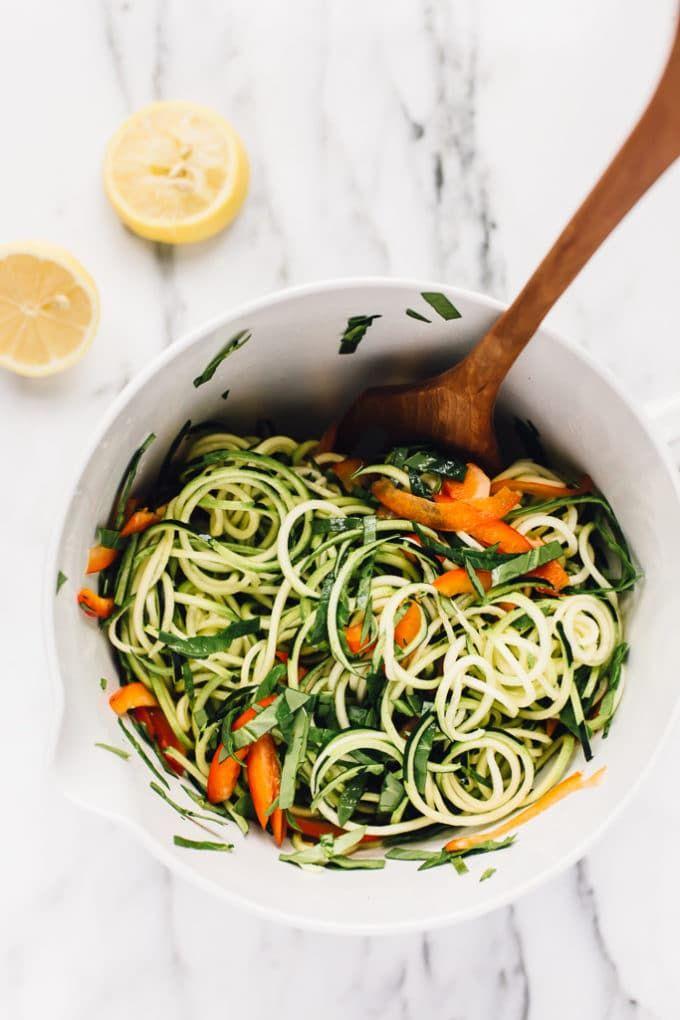 Raw vegan power zucchini pasta with hemp seed alfredo recipe raw vegan power zucchini pasta with hemp seed alfredo recipe zucchini pasta zucchini and raw vegan forumfinder Gallery
