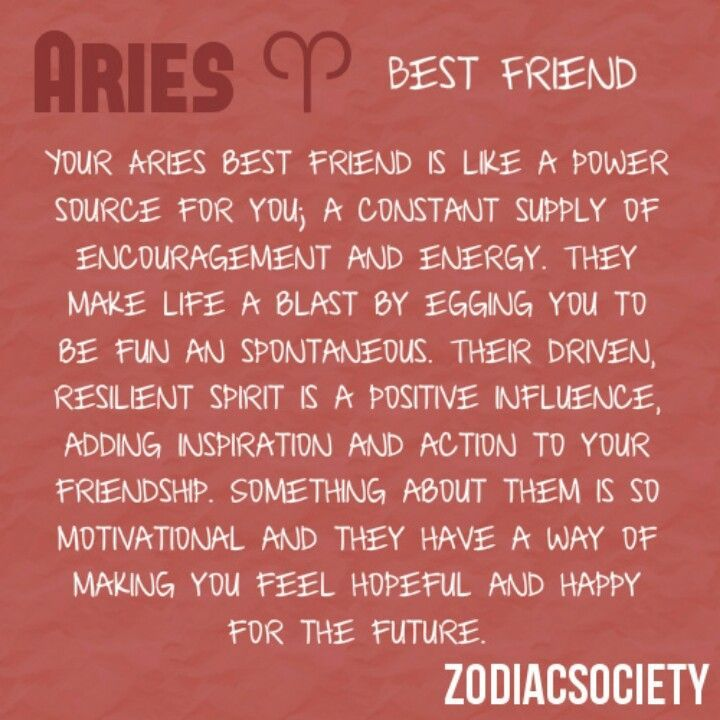 Aries Best Friend Summary  Know Thyself  Gemini -3319