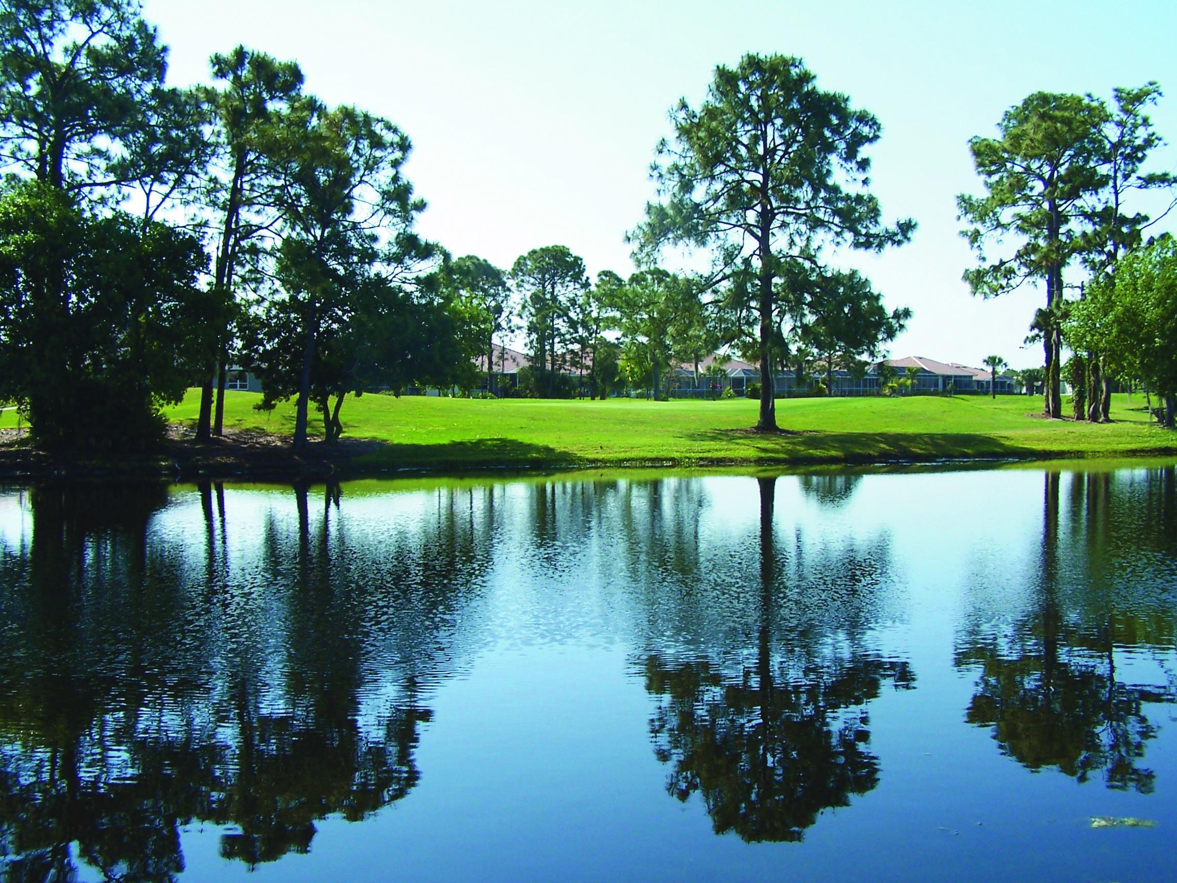 Golf Course at Oyster Creek Golf Club, Englewood, FL # ...