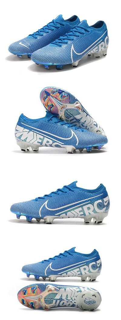 Nike Mercurial Vapor 13 Elite Fg Cleat New Lights Blue White Soccer Cleats Nike Football Boots Cleats