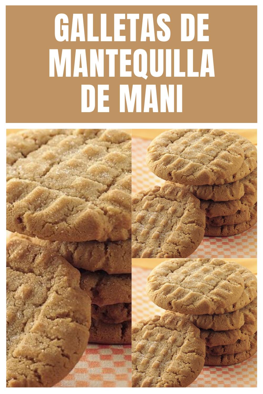 Cómo Hacer Galletas De Mantequilla De Mani Galletas De Mantequilla De Maní Mantequilla De Mani Como Hacer Galletas De Mantequilla