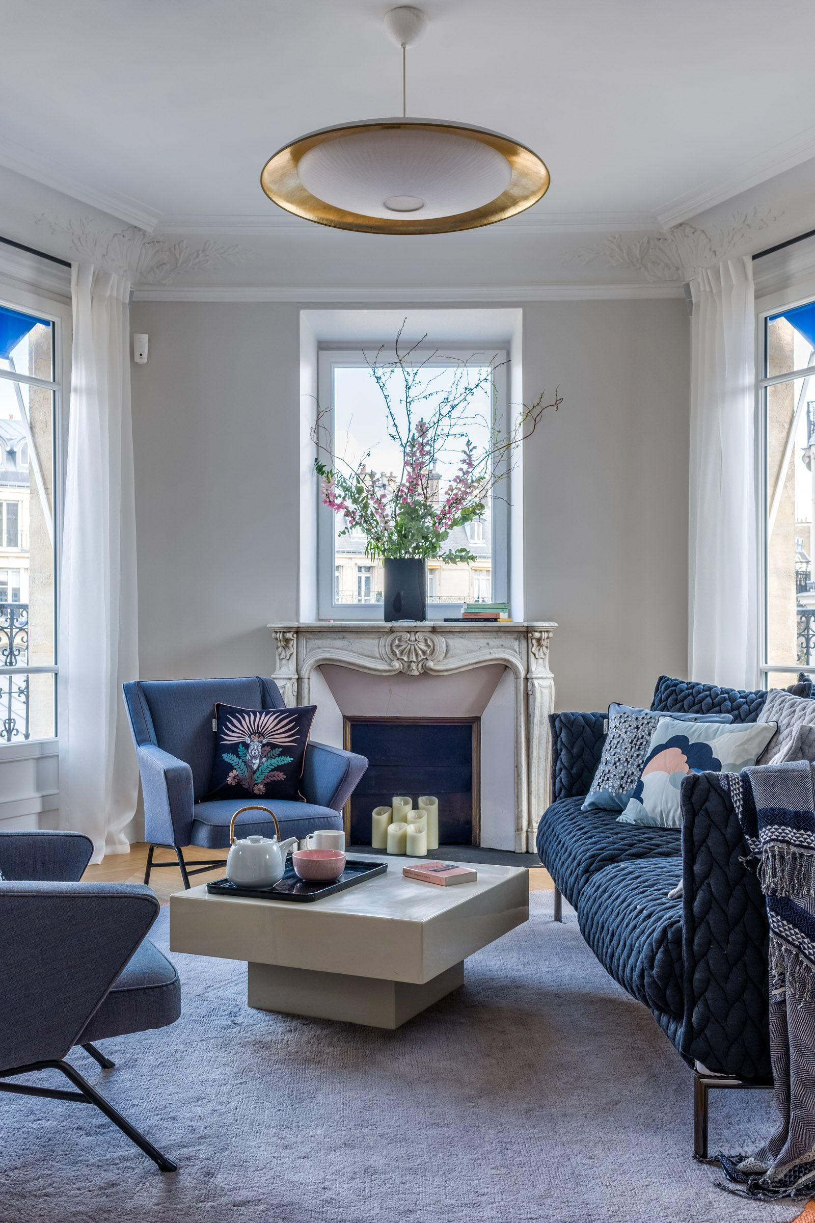 salon boh me chic v ronique cotrel pi ce vivre living room pinterest cloisonnement. Black Bedroom Furniture Sets. Home Design Ideas