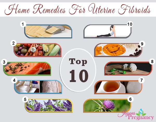Top 10 Home Remedies to Shrink Uterine #Fibroids Naturally