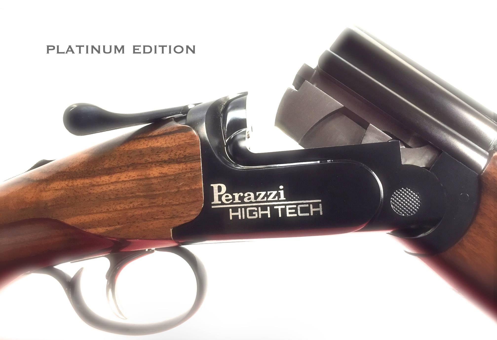 Perazzi High Tech Platinum Trap shooting, Clay pigeon