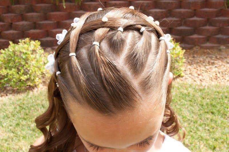 Princess Piggies: Baptism Picture Hair