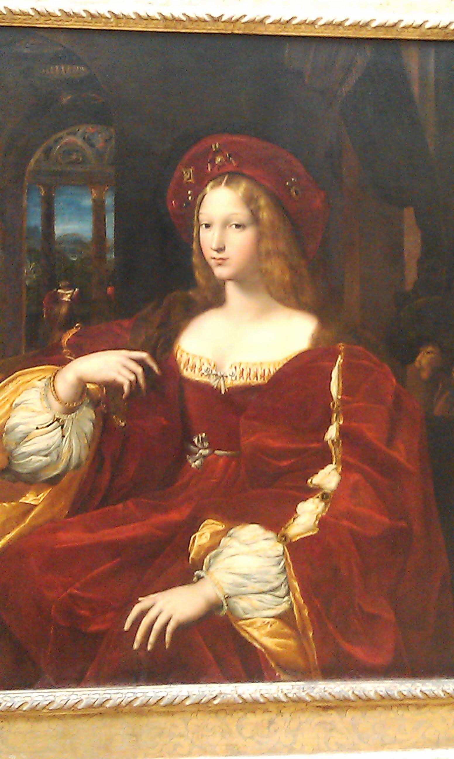 """"""" Leonardo De Vinci painting """" NO, portrait of Jeanne d"""