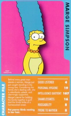 Classic Collection Vol 2 Top Trumps Card Game The Simpsons