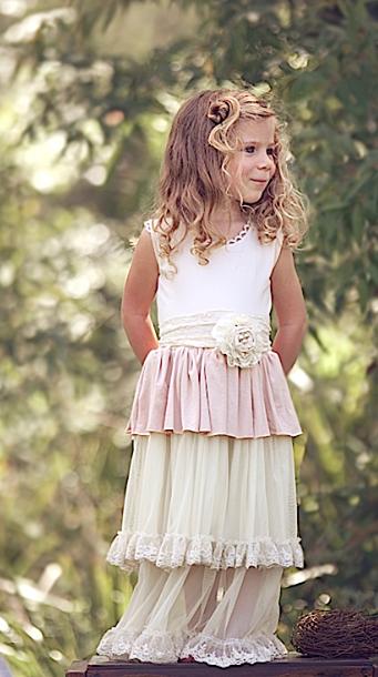 Vintage Tiered Dress