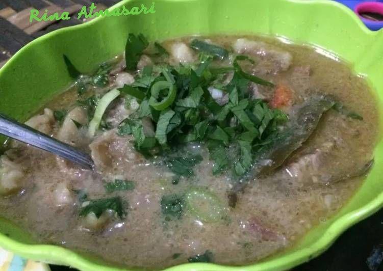 Resep Resep Coto Makassar Asli Oleh Rina Atmasari Resep Resep Resep Makanan Resep Masakan