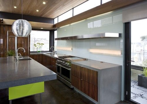 Concreteworks Modern Kitchen San Francisco Concreteworks