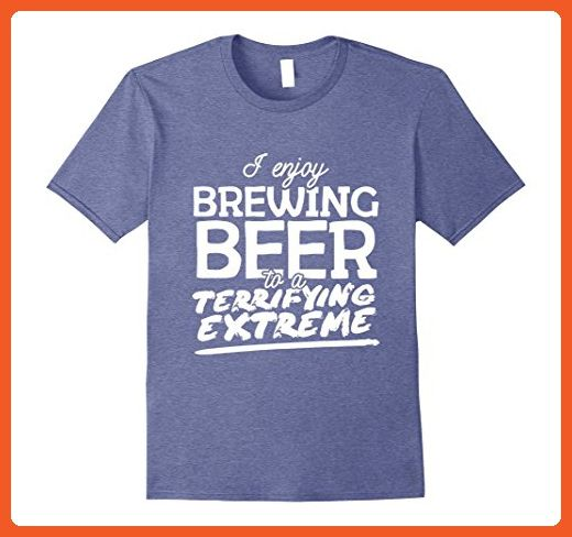 Mens Beer Brewing Shirt - Funny I Enjoy Brewing Beer T Shirt Small Heather Blue - Funny shirts (*Partner-Link)
