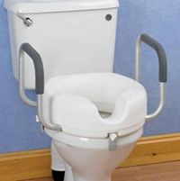 Raised Toilet Seat With Arms Bidets Get More Great Ideas At Http