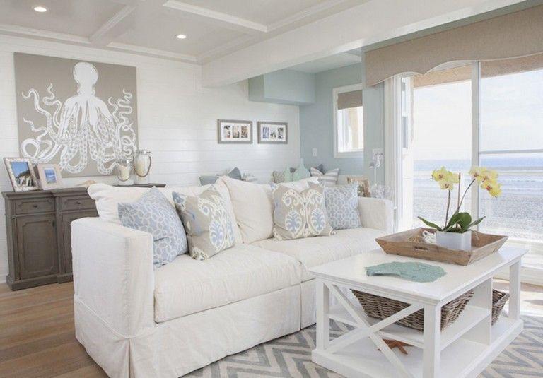 77 Comfy Coastal Living Room Decorating Ideas Coastal Living