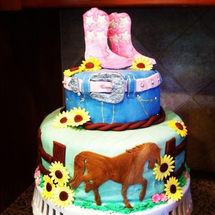 Cowgirl Birthday Cakes Cowgirl Cake Birthday Cakes I