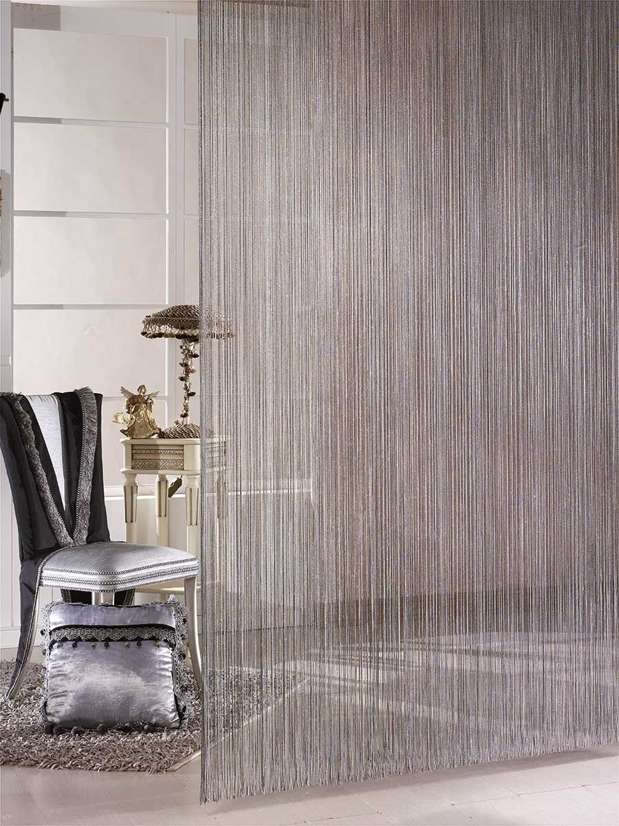A String Curtain makes a great room divider Home Pinterest