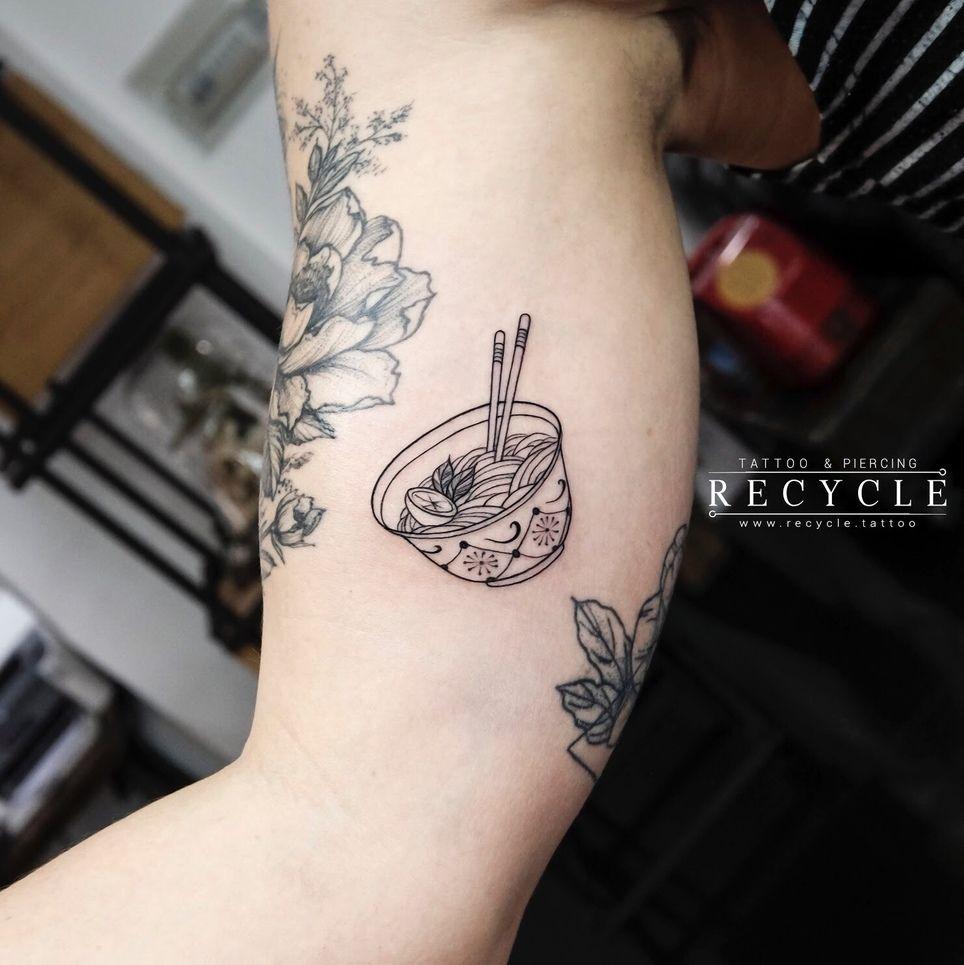 Pho Tattoo Tattoos Food Tattoos Small Tattoos