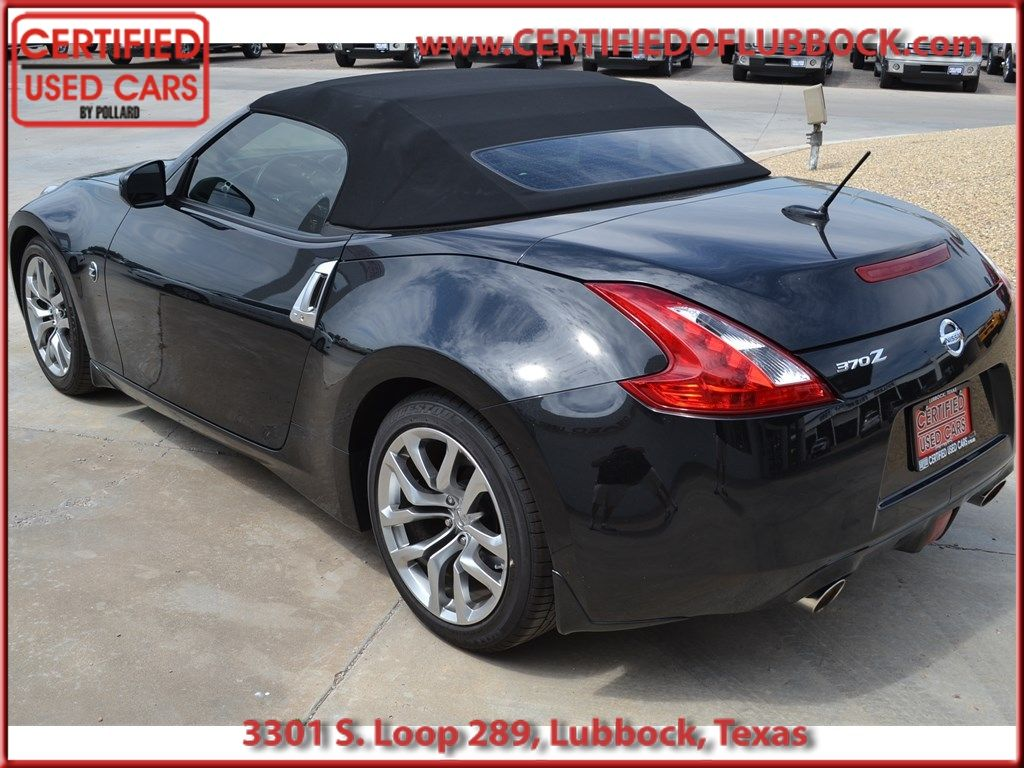 2014 Nissan 370Z at Certified Used Cars in Lubbock Texas