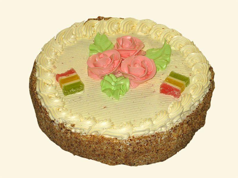 Торт бисквитно кремовый рецепт 96