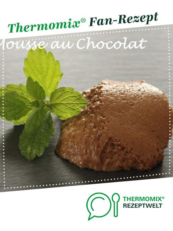 Mousse au Chocolat (ohne Sahne)