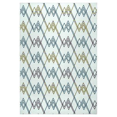 """Zipcode Design Terry Indoor/Outdoor Area Rug Rug Size: 5'3"""" x 7'7"""""""