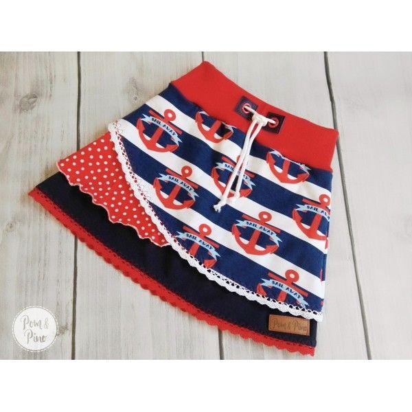 Skirt Lienchen * Pattern + Instructions * size 80 - 158   Kids ...
