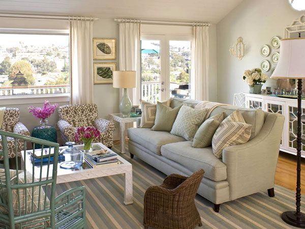 Family Casual Living Room Coastal Cottage Living Room Cottage Living Rooms Stylish Living Room