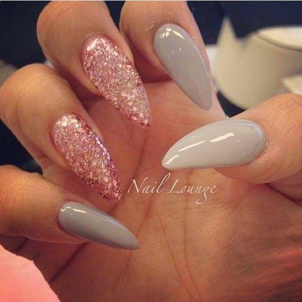 Stiletto Nails Pink Nails Cute Nails Long Nails