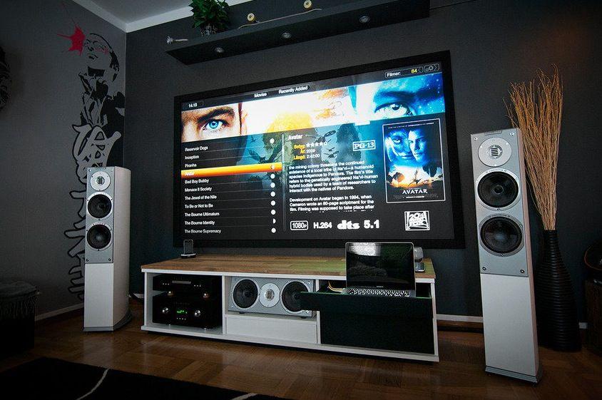 A Massive Home Entertainment Setup #homeentertainment