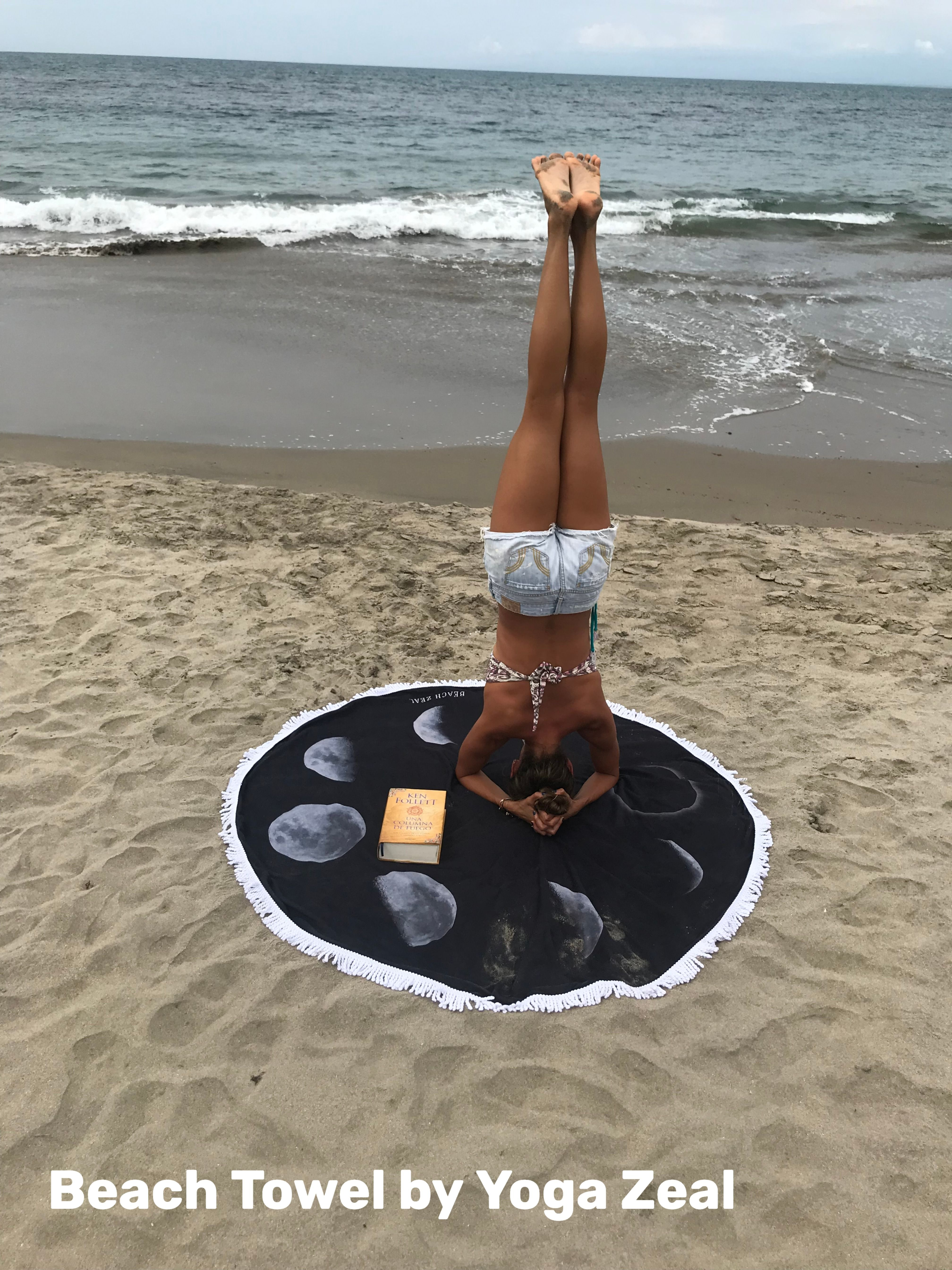 The Best Beach Towels With Images Moon Phases Yoga Mat Round
