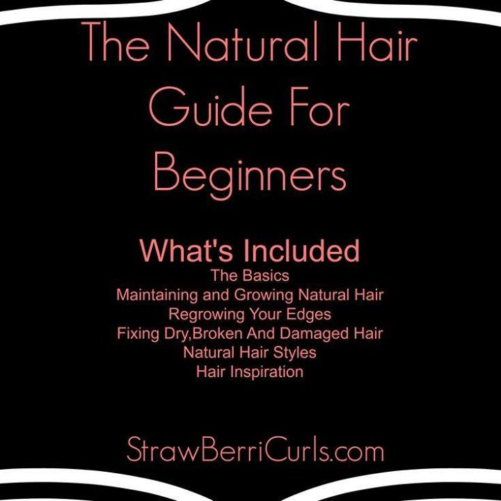 """""""The Natural Hair Guide For Beginners"""" http://wp.me/P1XSAA-1B9 #naturalhair"""