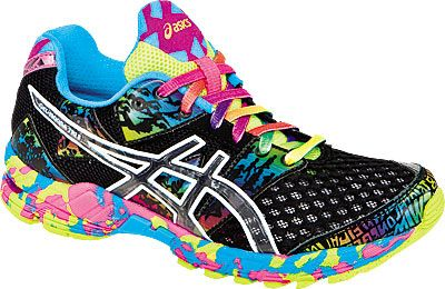 asics bright trainers