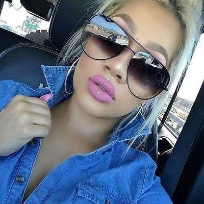 6701356c35 XL Aviator OVERSIZED Women Sunglasses Aviator Flat Top Square Shadz Glasses  Key