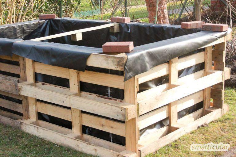 Hochbeet Selber Bauen Einfach Und Preiswert Aus Paletten In 2020 In 2020 Building Raised Beds Raised Beds Raised Garden Beds