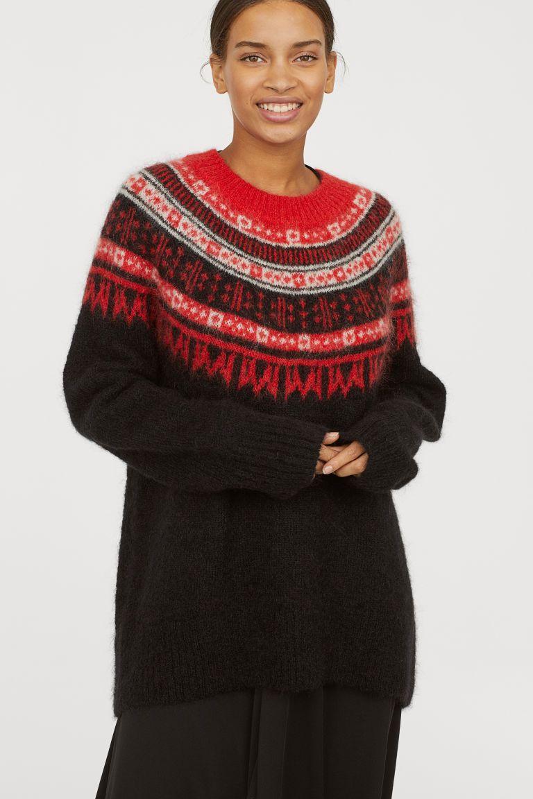 ee4ee30dcc14a Pull en laine mélangée   ciuszki   Sweaters, Christmas sweaters i ...