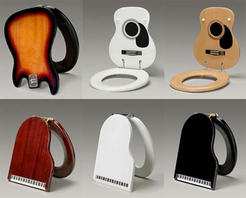 musical instrument themed toilet seats jasmb everyone i just
