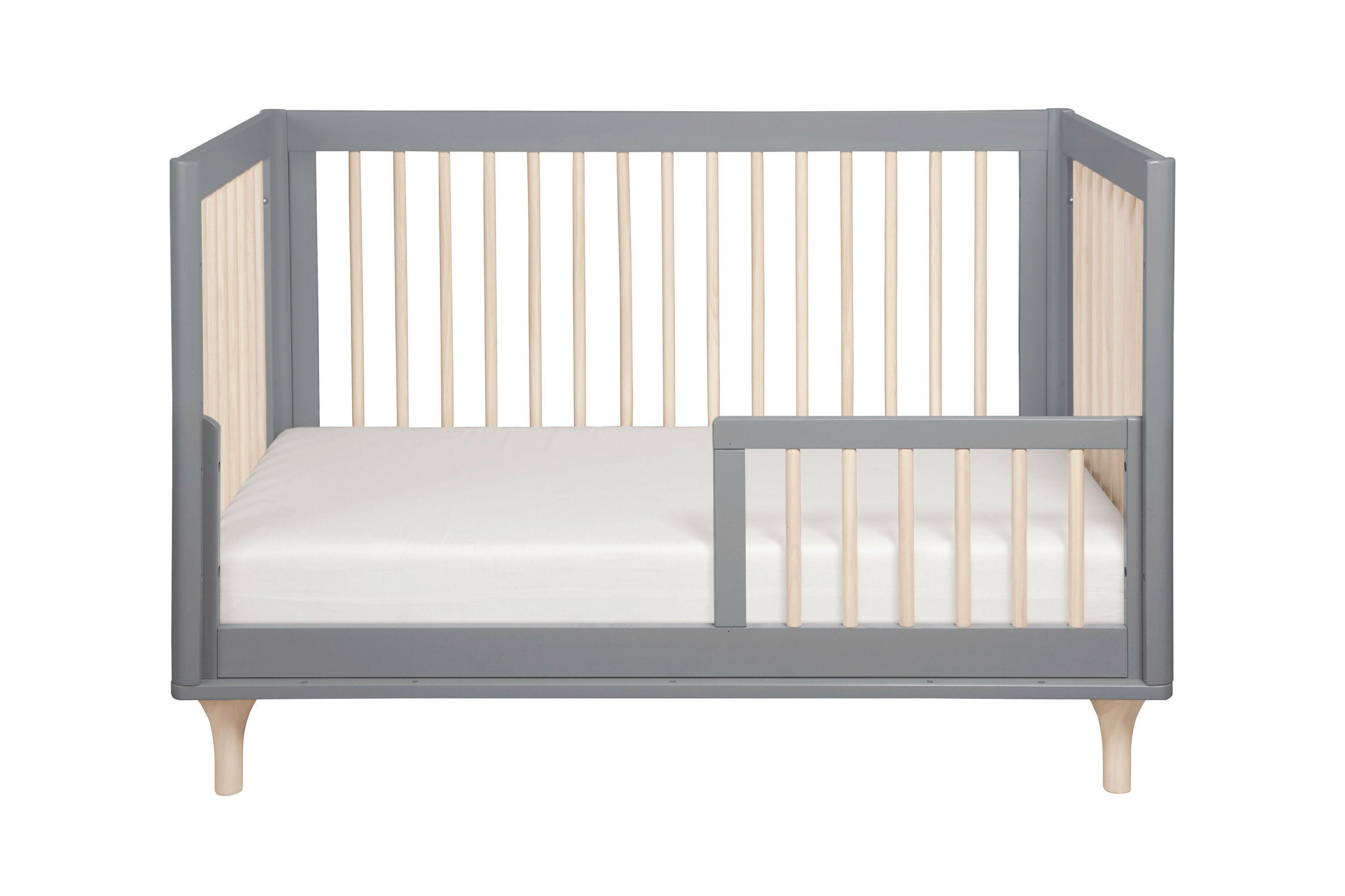 Lolly 3 In 1 Convertible Crib With Toddler Bed Conversion Kit Cribs Convertible Crib Toddler Bed