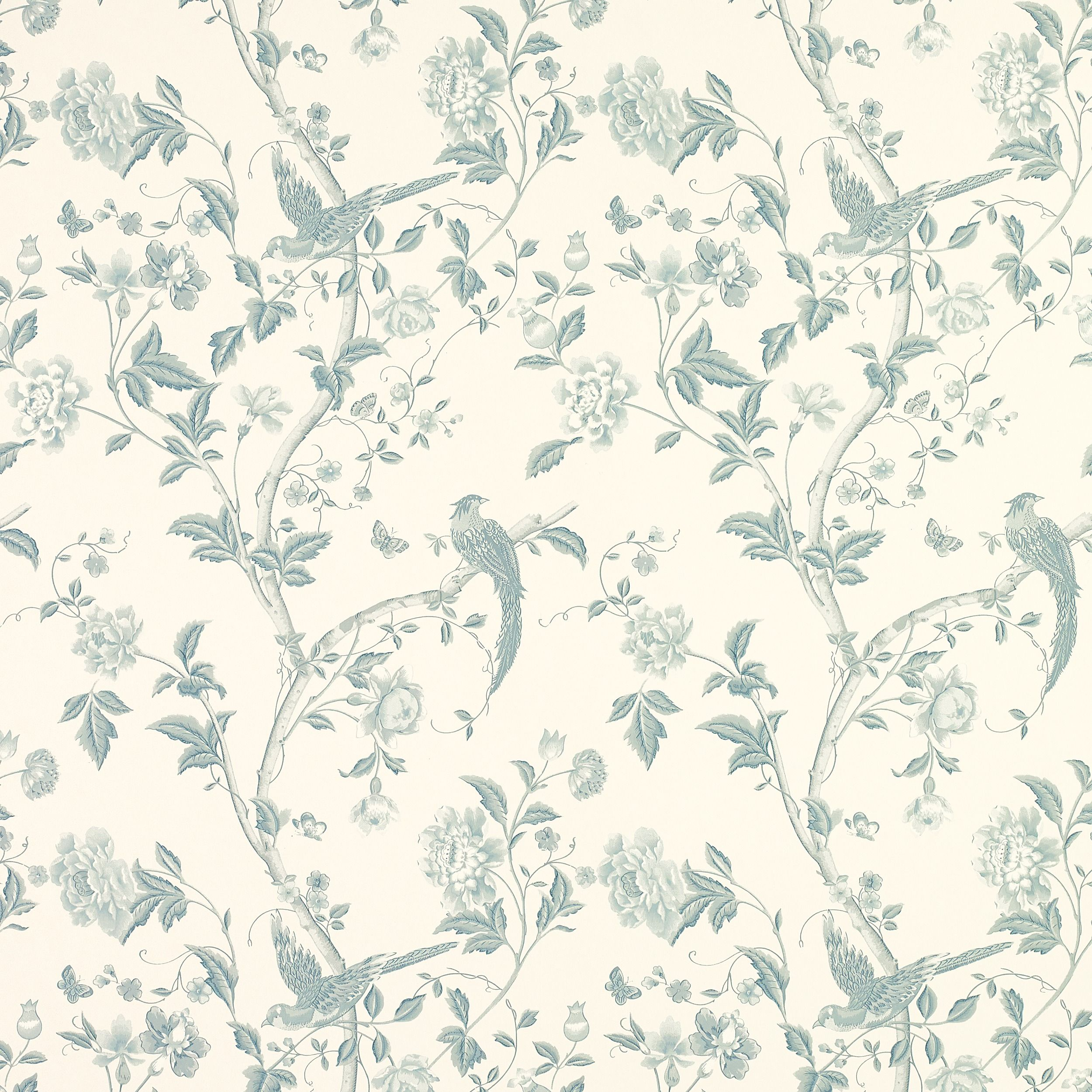 summer palace off white duck egg blue wallpaper at laura ashley paint surfaces pinterest. Black Bedroom Furniture Sets. Home Design Ideas