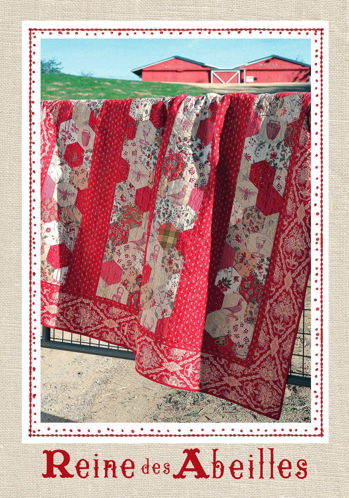 Maison De Garance - Reine Des Abeilles Quilt Pattern