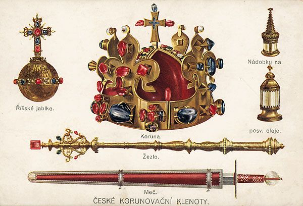 Symboly současné České republiky | Crown jewels, Bohemian crown, History