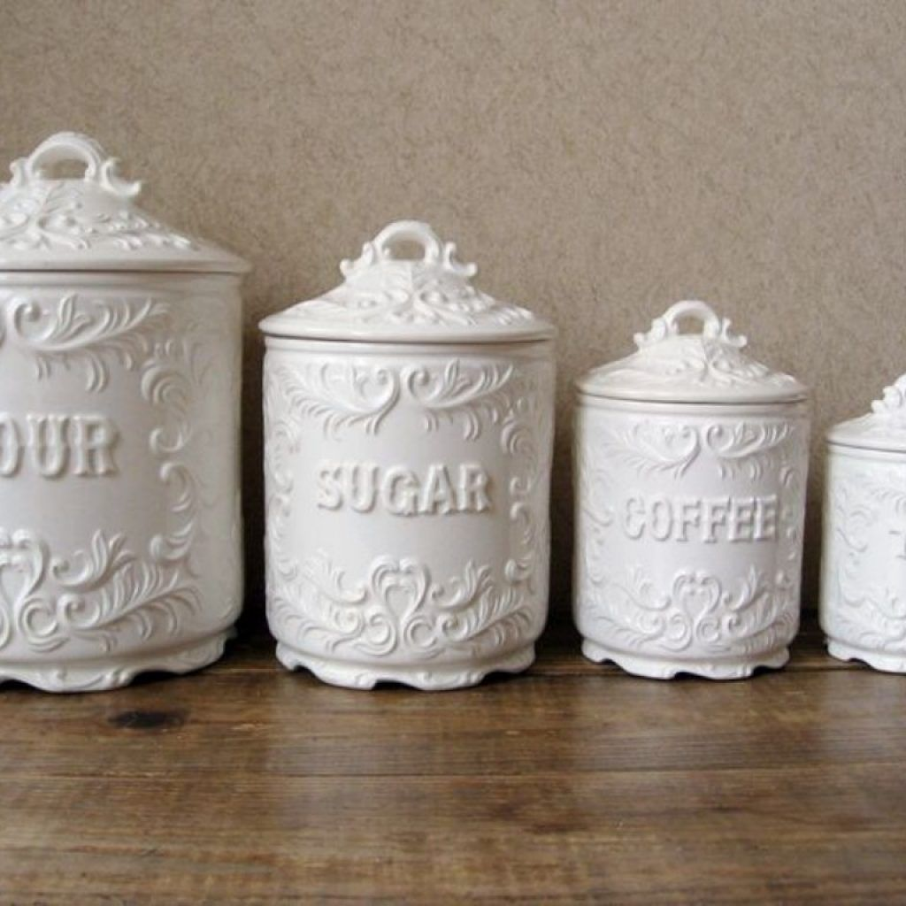 Cream Kitchen Canister Sets