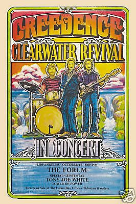 Creedence Clearwater Revival and guest Tony Joe White, Los Angeles